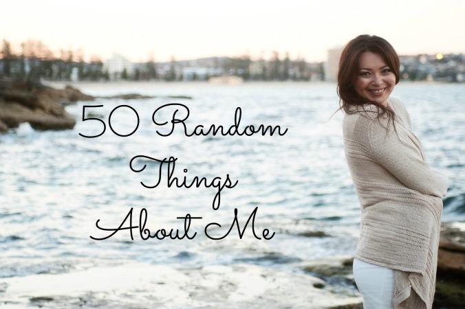 50 Random Things Pic