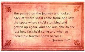 Queenism Traveler Quote